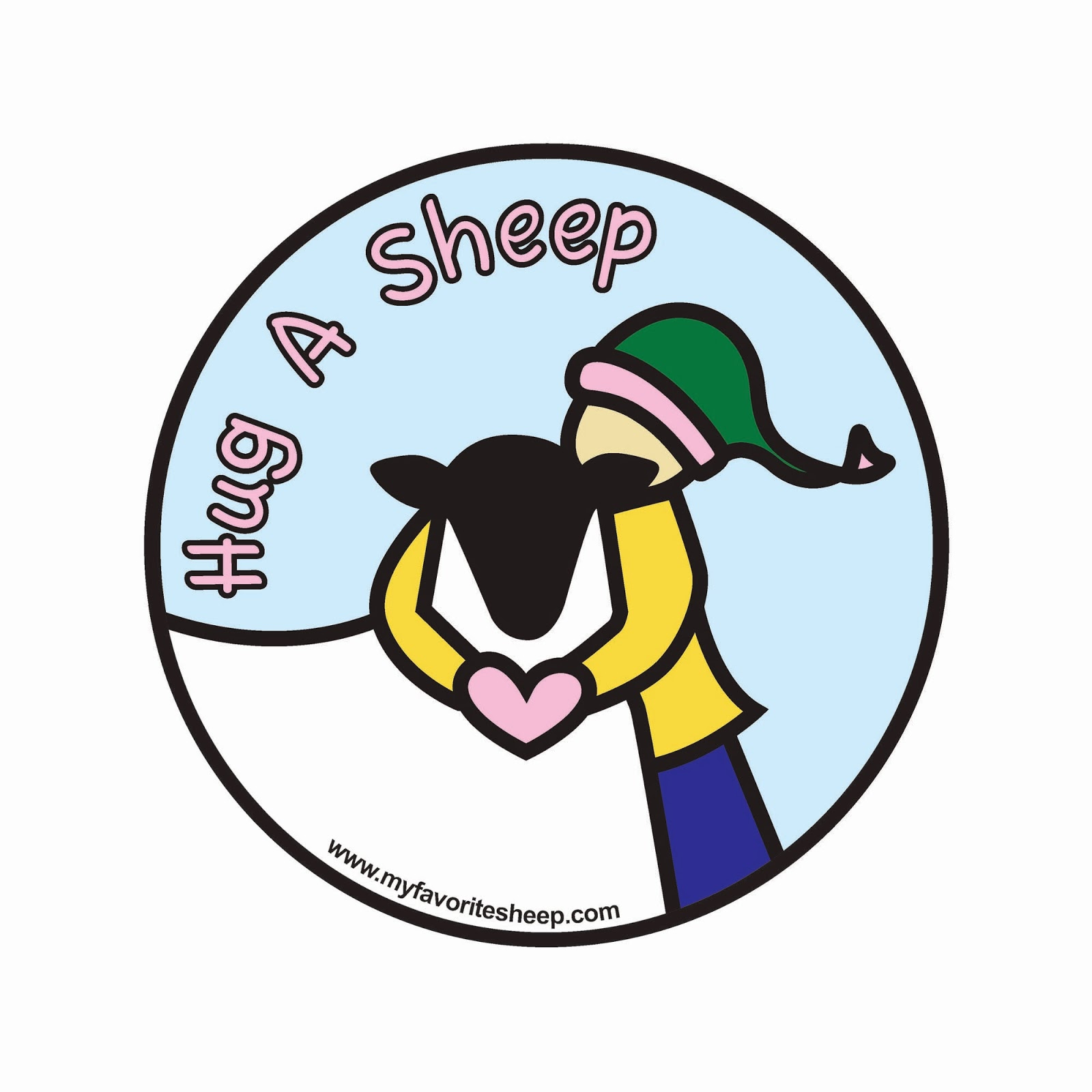 (Inter) National Hug a Sheep Day