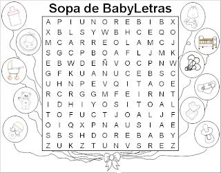 Sopa de Letras para Niños, parte 2