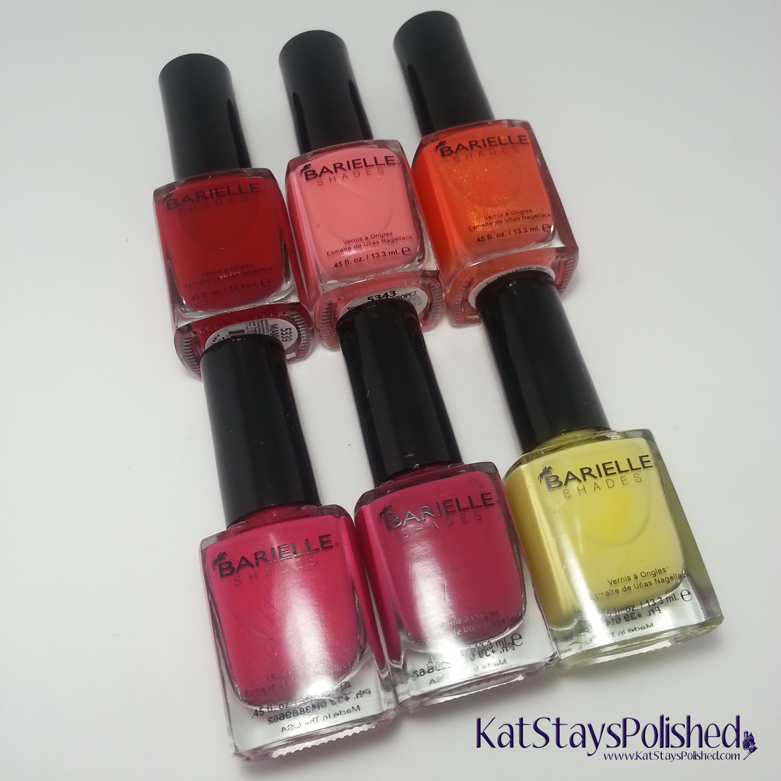 Barielle Keys Collection - Summer 2014 | Kat Stays Polished