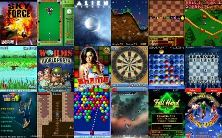Mobile World: free mobile phone games, online java games ...