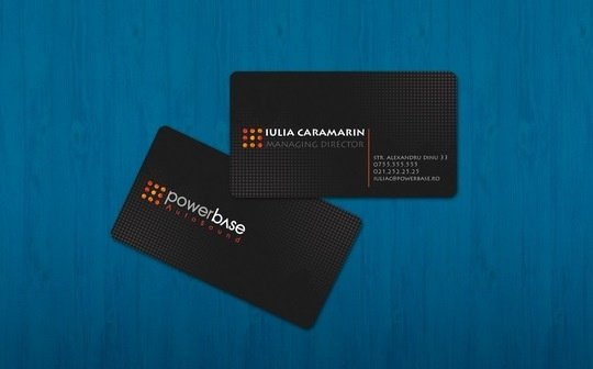BEST 14 MOST CREATIVE BUSINESS CARDS DESIGN 7