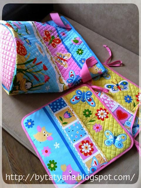 Кармашки для пижамы, корзина для игрушек