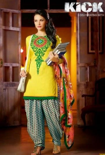 Kick Movie Shalwar Kameez Suits