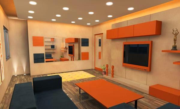 gambar cat interior rumah
