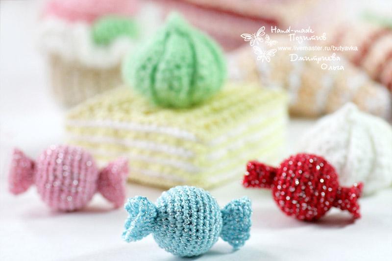 Набор вязаных сладостей для