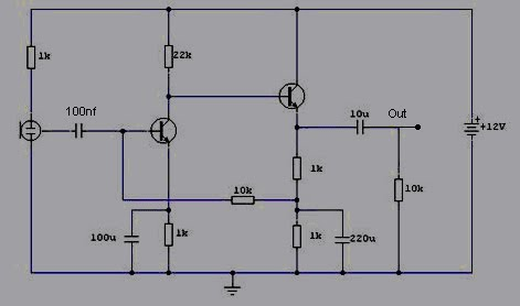 VKS203De additionally 2009 07 01 archive moreover High Gain Guitar Pre  Schematic besides Lf356 Jfet Op   Dip Kit 1290 further FET Circuit Diagram. on pre amp circuit diagram