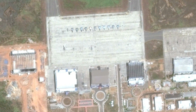 MiG-29K aircraft at Vizag