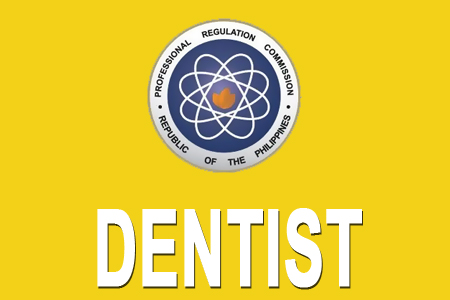 December 2012 Top 10 Dentist Board Exam Results