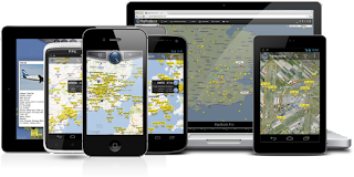 Flightradar24 dispositivos móviles