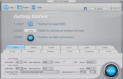 WinX DVD Ripper Offline Installer Free Download