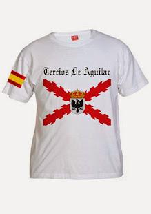 Camiseta Tercios de Aguilar 15€