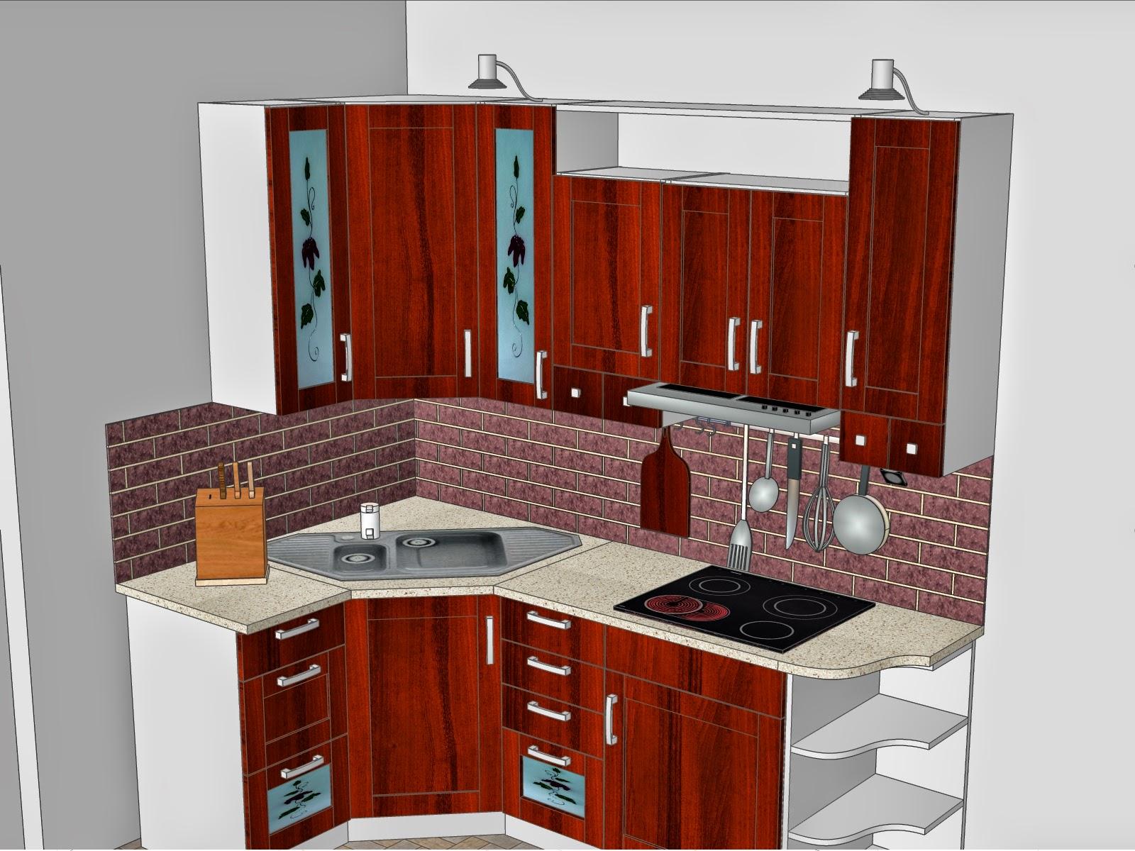 Kichen set sederhana cocok untuk ruang dapur yg sempit