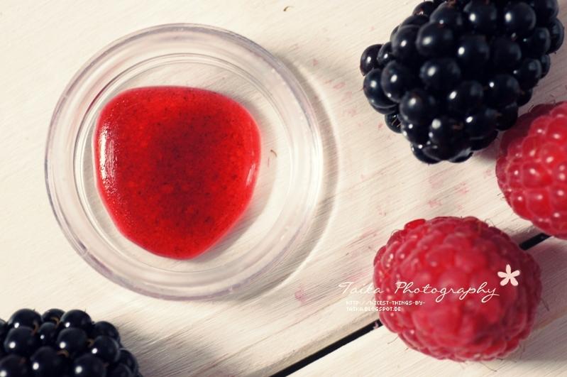 DIY Lip Stain Lip Tint selber machen Lippenfarbe mit Beeren