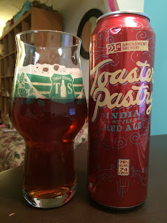 21st Amendment Toaster Pastry Red Ale 1