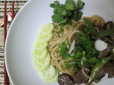 wasabi noodles