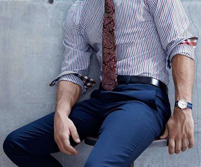A fashion manager c mo remangar tu camisa - Como doblar una camisa ...