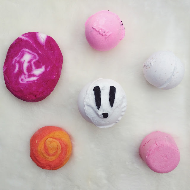 FashionFake, beauty blog, Lush haul, Lush bath bombs