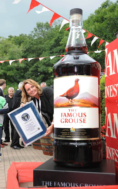 Famous Grouse, Largest bottle of whisky in the world, World's Largest Bottle of Whisky, World's Largest Whisky Bottle, Famous Grouse Whisky Bottle, largest whisky bottle in the world 2012, largest whisky bottle picture