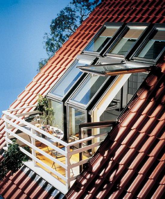 Home decoration ideas basic of attic design - Attic balcony design ideas ...