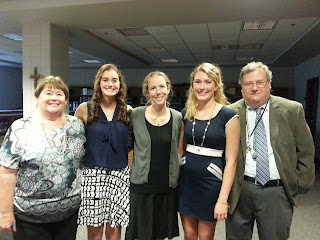 Montgomery Catholic's Mu Alpha Theta Honor Society Welcomes Auburn University's Katherine Perry to Campus 1