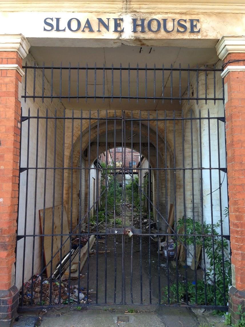 Abandoned building, Camden Street, Jewellery Quarter, Birmingham