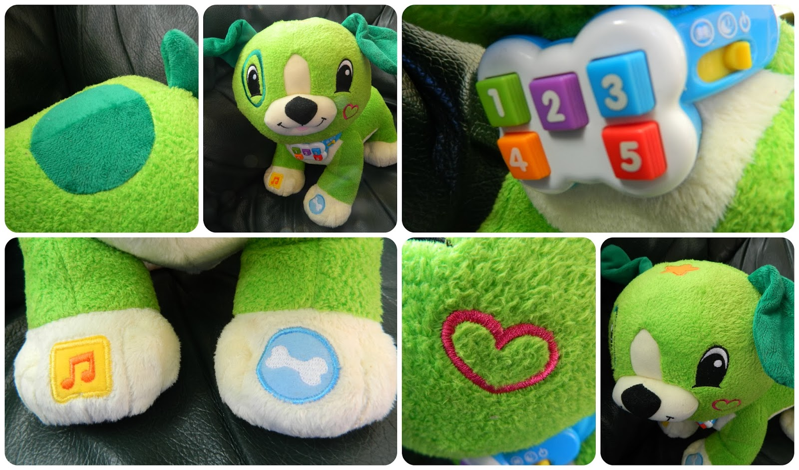Close up Read with Me Scout from LeapFrog