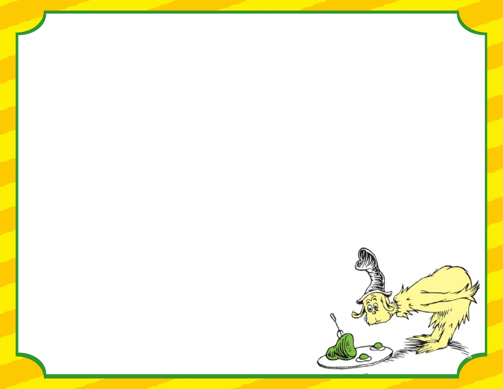 Dr seuss background for powerpoint