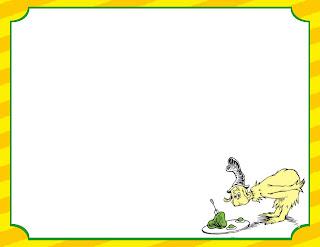 Dr Seuss Paper | New Calendar Template Site
