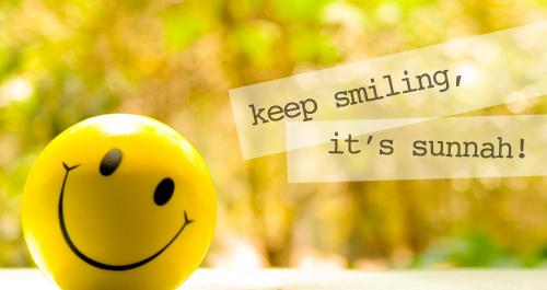 Senyum Memberimu Kekuatan