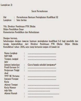 Surat Permohonan