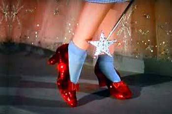 Woo-hoo, We Saved Dorothy's Ruby Slippers!