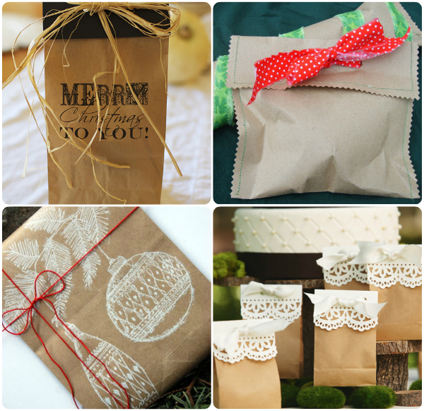 Christmas Gift Bag Decorating Ideas - Elitflat
