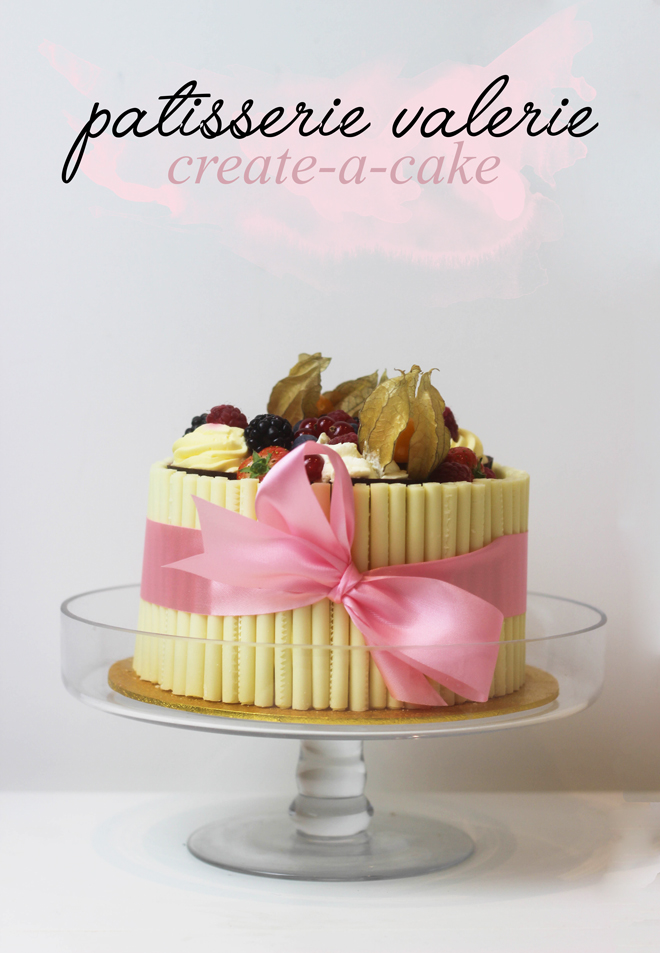 Custom made cake by Patisserie Valerie