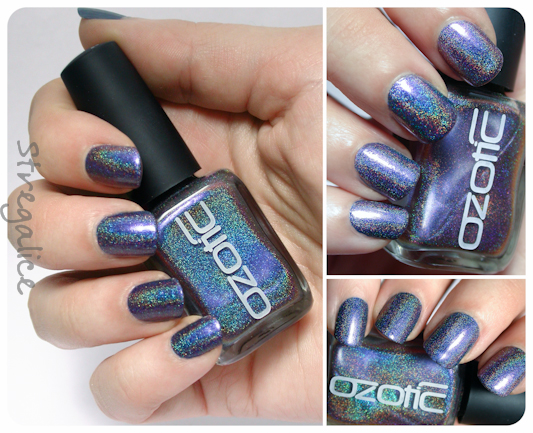 Ozotic 534 holographic multichrome swatches