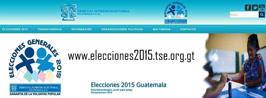 TRIBUNAL SUPREMO ELECTORAL ELECCIONES 2015