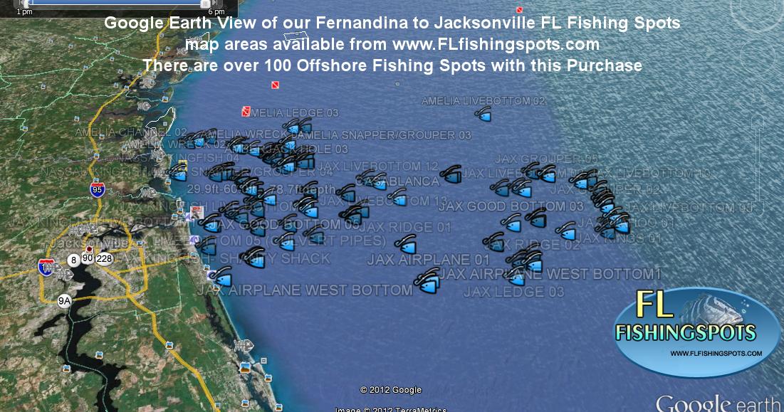 Ga fishing maps with ga fishing spots ga and fl fishing for Best fishing spots in florida