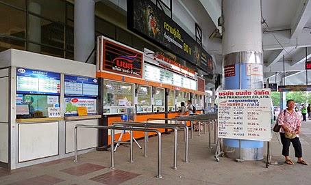Mo Chit Bus Terminal in Bangkok