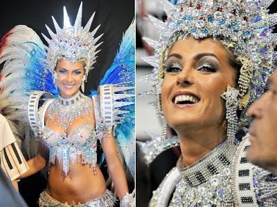 Fotos musas do Carnaval 2011 - São Paulo - 1° noite - Ana Hickmann
