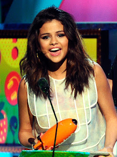selena gomez kids choice awards