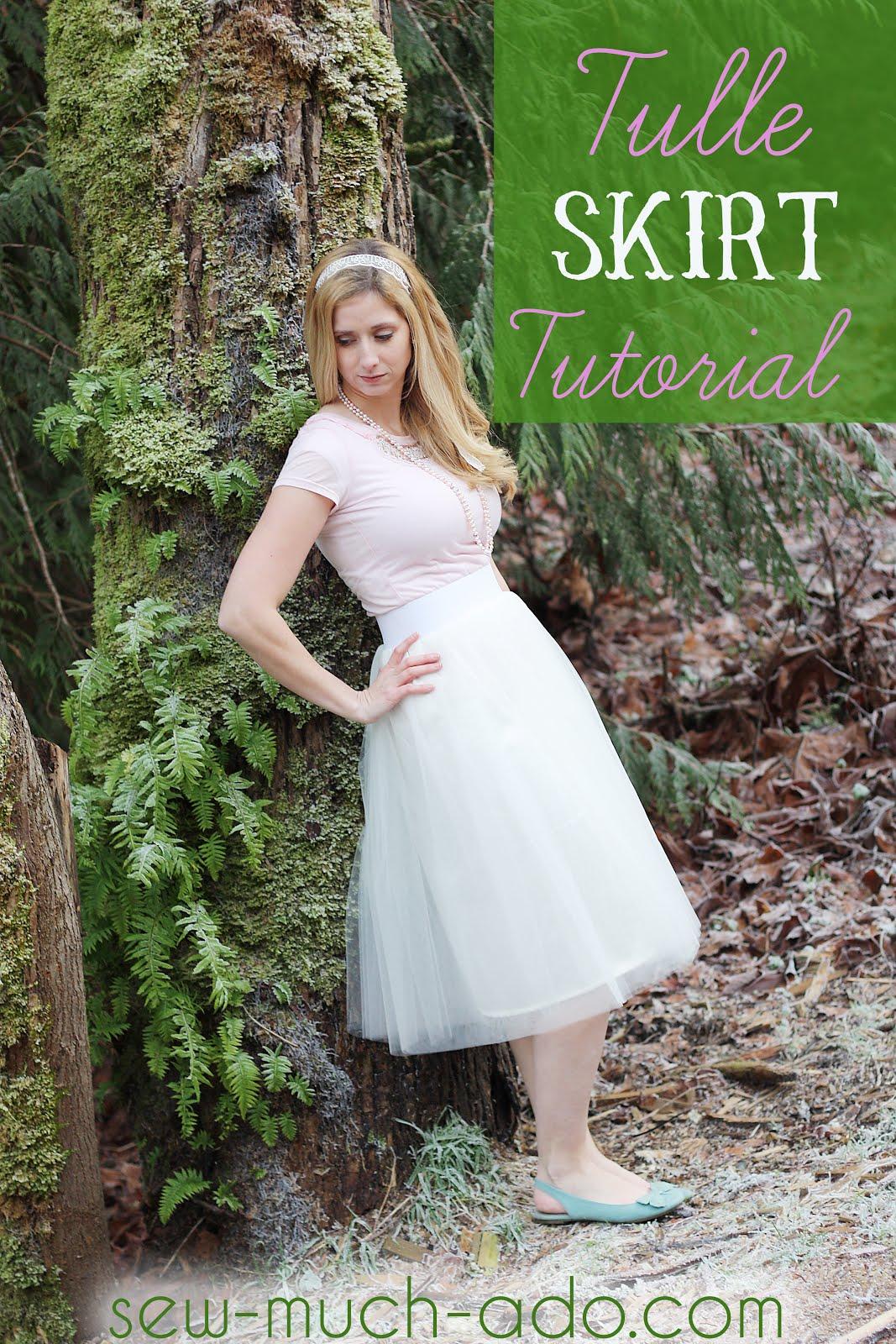 Tulle Skirt Tutorial - Sew Much Ado