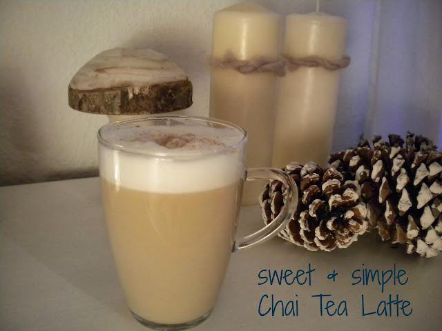 ... Rezept zeigen, wie ihr Chai Tea Latte ohne Pulver selbst zubereitet