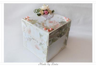 scrapbooking pudełko kieszonkowiec