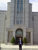 At Boston Temple