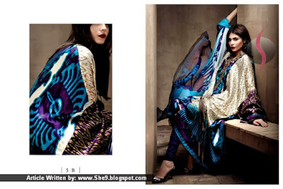 Sana Safinaz Silk Collection for Fall Winter 2015