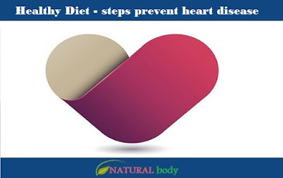 Healthy Diet - steps prevent heart disease