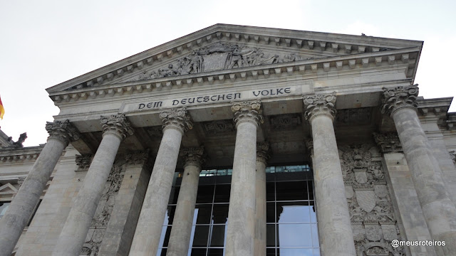 Reichstag, o parlamento alemão - Berlim
