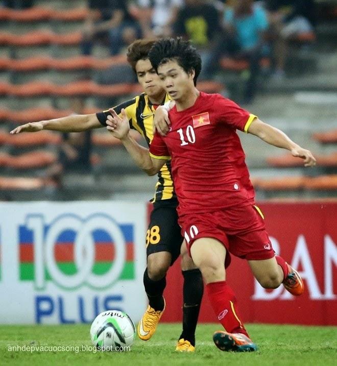 Vòng loại U23 Châu Á: Việt Nam 2-1 Malaysia 2