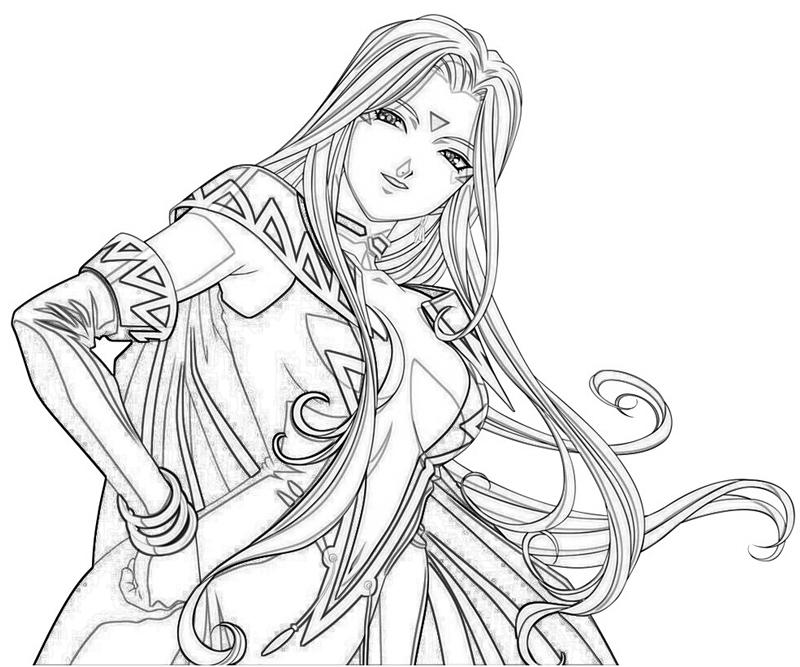 urd-character-coloring-pages