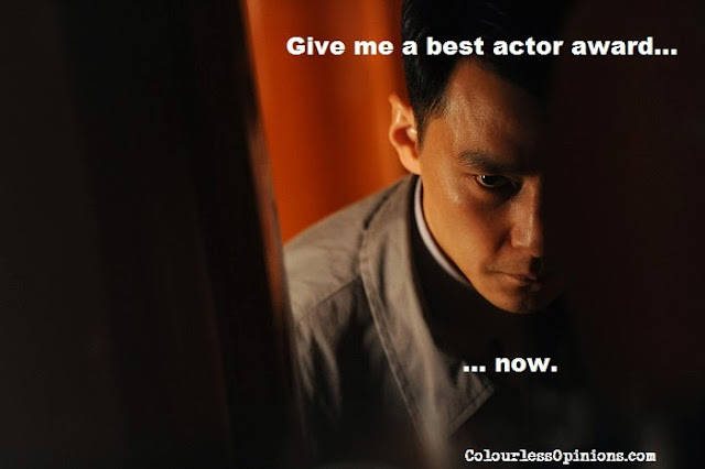 That Demon Within 魔警 2014 movie still - daniel wu meme