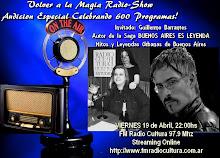 Especial 600 Programas Invitado: Guillermo Barrantes -Mitos y Leyendas Urbanas